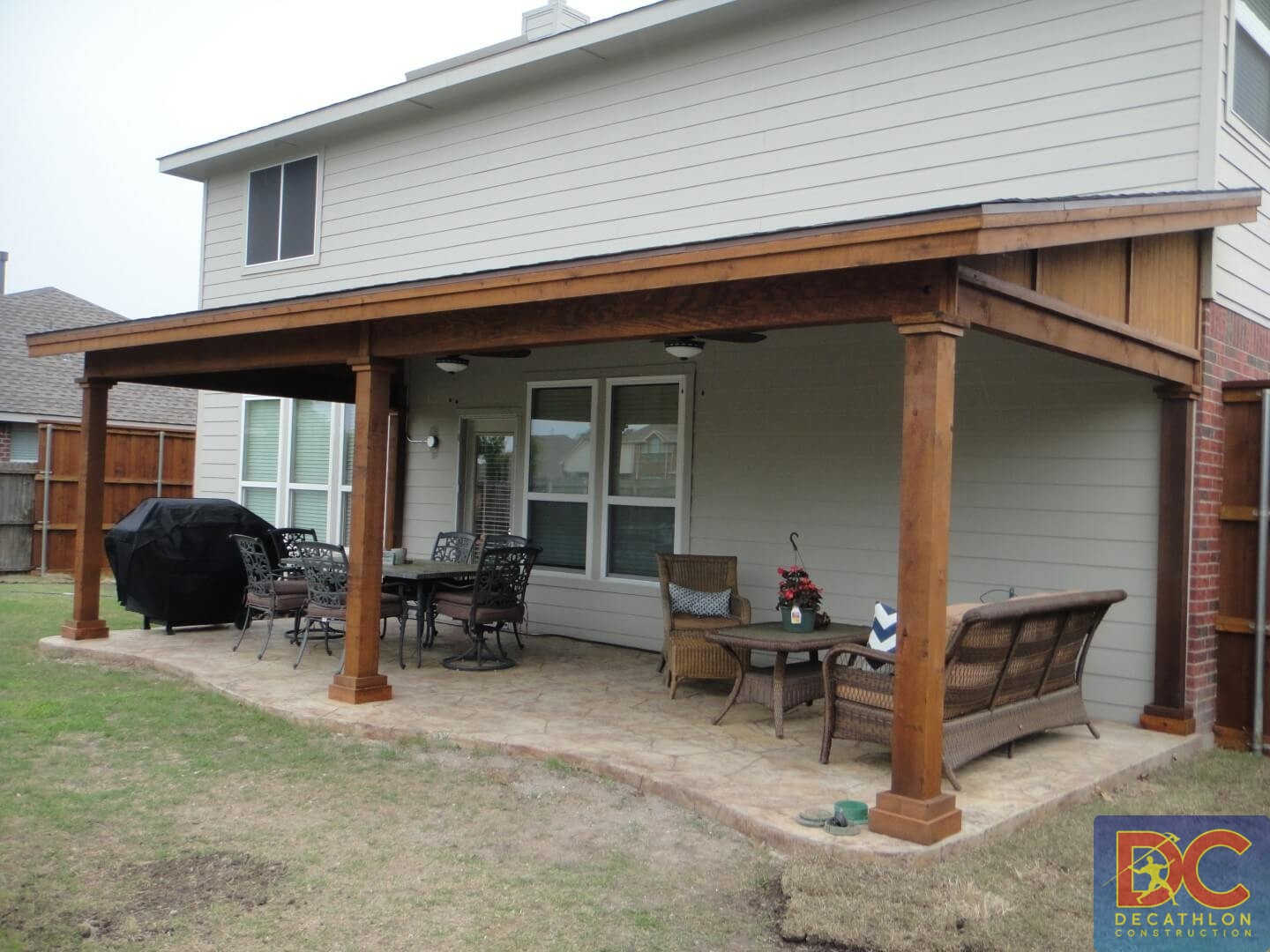 Our Work U2013 Shed Roof Patio Covers