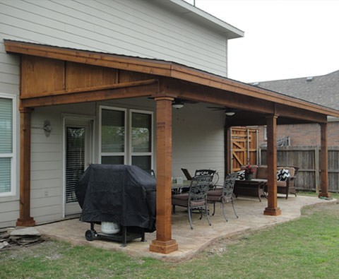 shed roof patio covers